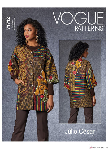 Vogue Pattern V1712 Misses' Jacket