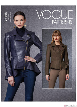 Vogue Pattern V1714 Misses' Jacket