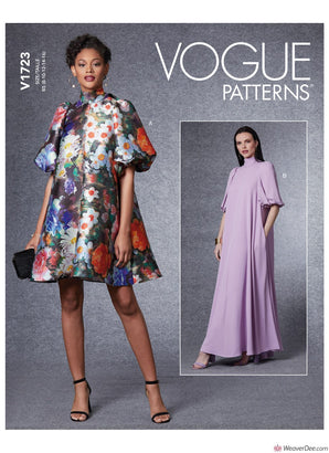 Vogue Pattern V1723 Misses' Special Occasion Dress
