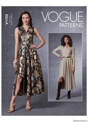 Vogue Pattern V1725 Misses' Dress