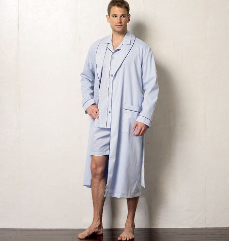 Vogue - V8964 Men's Robe, Top, Shorts & Pants | Easy - WeaverDee.com Sewing & Crafts - 1