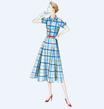 Vogue - V9000 Misses' Vintage 1950's Dress & Belt - WeaverDee.com Sewing & Crafts - 5