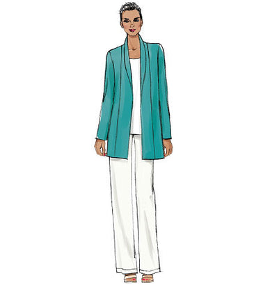 Vogue Pattern V9011 Misses' Jacket, Shorts & Pants | Very Easy