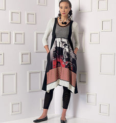 Vogue - V9108 Misses Top, Dress & Leggings - WeaverDee.com Sewing & Crafts - 1