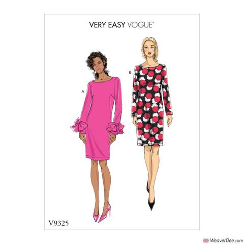 Vogue Pattern V9325 Misses' Dress