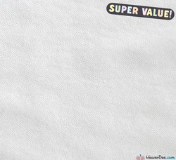 WeaverDee - Value Interfacing - Iron-on [White] - WeaverDee.com Sewing & Crafts