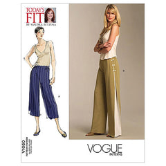 Vogue - V1050 Misses' Pants | Easy | by Sandra Betzina - WeaverDee.com Sewing & Crafts - 1