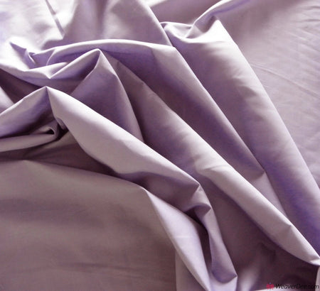 Plain Poly Cotton Fabric / Dusky Mauve