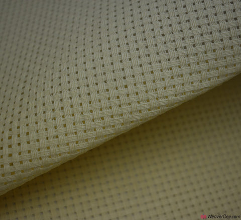 Binca Cross Stitch Fabric - Cream (6HPI)