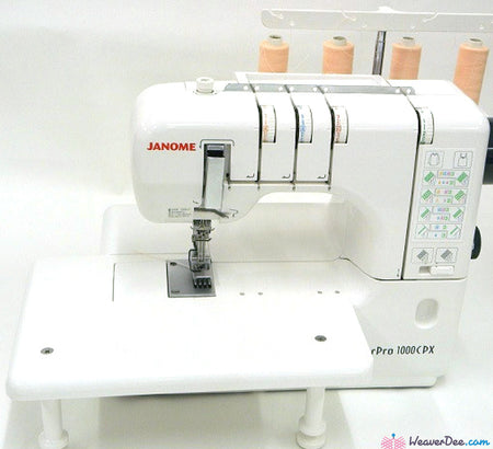 Janome - Janome CoverPro Extension Table - WeaverDee.com Sewing & Crafts