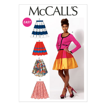 McCall's - M6706 Misses' Skirts & Petticoat (Easy) - WeaverDee.com Sewing & Crafts - 1