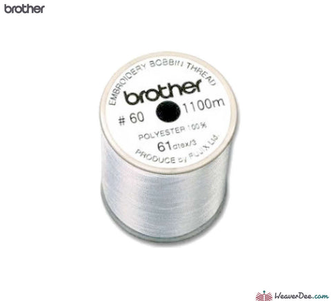 Brother - Brother Bobbin Thread 1100m (Grey Top Reel) - WeaverDee.com Sewing & Crafts - 2
