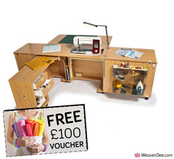 Horn Superior Sewing Machine Cabinet + FREE £100 VOUCHER