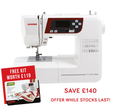 Janome XL601 Sewing Machine + FREE KIT WORTH £119