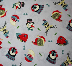 Rose & Hubble Cotton Fabric - A Christmas Spectacle