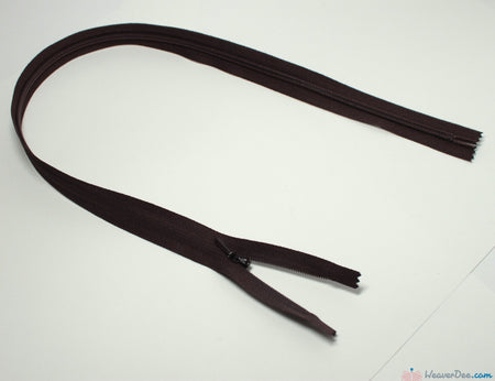 YKK - Concealed Nylon Zip [570 Brown] - WeaverDee.com Sewing & Crafts