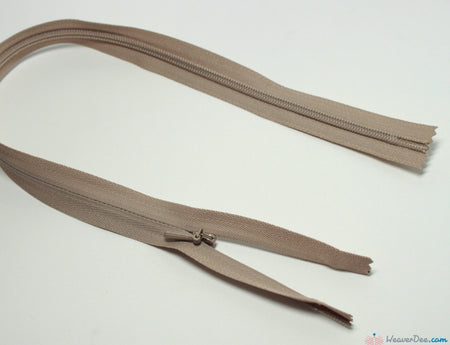 YKK - Concealed Nylon Zip [573 Beige] - WeaverDee.com Sewing & Crafts
