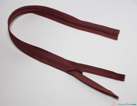 YKK - Concealed Nylon Zip [855 Mid Brown] - WeaverDee.com Sewing & Crafts