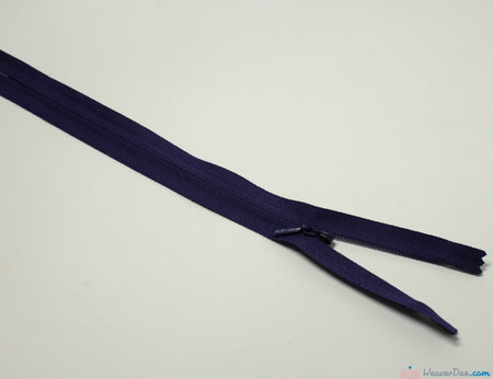 YKK - Concealed Nylon Zip [866 Purple] - WeaverDee.com Sewing & Crafts