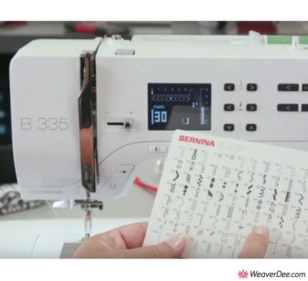 Bernina 335 Sewing Machine