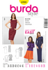 Burda - BD6988 Misses' Dress | Easy - WeaverDee.com Sewing & Crafts - 1