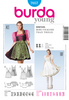 Burda - BD7057 Misses' Folklore Dress - WeaverDee.com Sewing & Crafts - 1