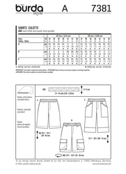 Burda - BD7381 Mens' Shorts | Easy - WeaverDee.com Sewing & Crafts - 1