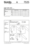 Burda - BD7525 Mens' Shirt - WeaverDee.com Sewing & Crafts - 2
