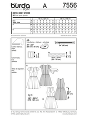Burda - BD7556 Misses Party Dress | Vintage 1950's | Easy - WeaverDee.com Sewing & Crafts - 1