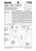 Burda - BD7700 Misses Jacket | Very Easy - WeaverDee.com Sewing & Crafts - 2