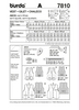 Burda - BD7810 Unisex Vest | Very Easy - WeaverDee.com Sewing & Crafts - 2