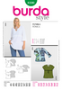 Burda - BD8100 Misses' Tunic | Very Easy - WeaverDee.com Sewing & Crafts - 1