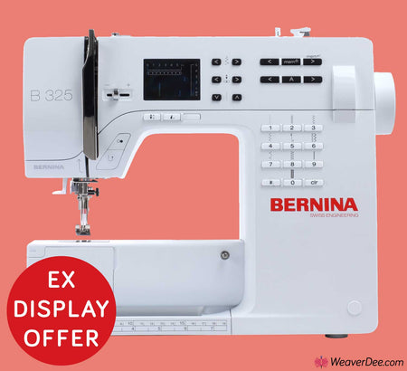 • EX-DISPLAY • Bernina 325 Sewing Machine