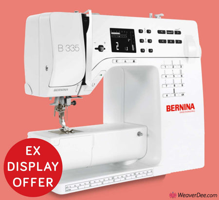• EX-DISPLAY • Bernina 335 Sewing Machine + FREE WALKING FOOT WORTH £99