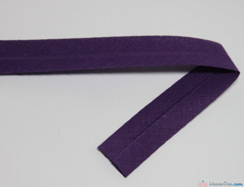 PRYM 100% Cotton Bias Binding / Purple