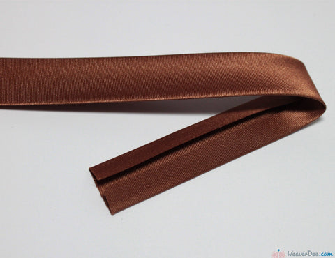 PRYM Duchesse Bias Binding / Brown