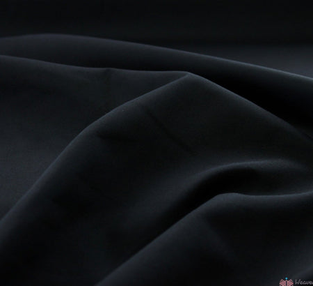 WeaverDee - Poly Cotton Fabric / Black - WeaverDee.com Sewing & Crafts - 1