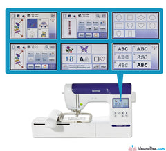 Brother - Brother Innov-is F440E Embroidery Machine - WeaverDee.com Sewing & Crafts - 1