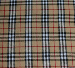 WeaverDee - Polyviscose Tartan Fabric / Burnberry - WeaverDee.com Sewing & Crafts - 1