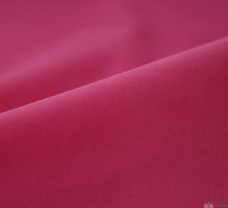 WeaverDee - Poly Cotton Fabric / Cerise - WeaverDee.com Sewing & Crafts - 3