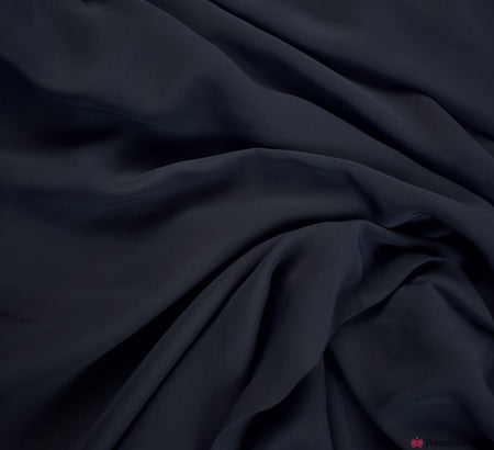 Chiffon Fabric / Navy Blue