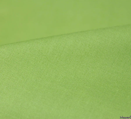 WeaverDee - Cotton Lawn Fabric / Apple Green - WeaverDee.com Sewing & Crafts - 1