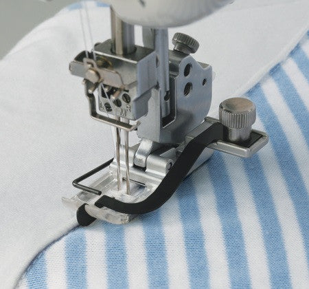 Janome - Janome CoverPro Centre Guide Foot - WeaverDee.com Sewing & Crafts