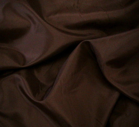WeaverDee - Dress Lining Fabric / 150cm / Dark Brown - WeaverDee.com Sewing & Crafts