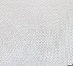 WeaverDee - Dress Net Fabric / 150cm Silk White - WeaverDee.com Sewing & Crafts - 1
