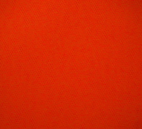 WeaverDee - Dress Net Fabric / 150cm Flame Orange - WeaverDee.com Sewing & Crafts