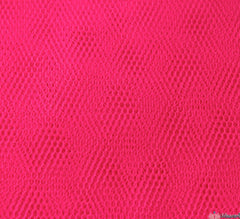 WeaverDee - Dress Net Fabric / 150cm Fluorescent Cerise - WeaverDee.com Sewing & Crafts - 1