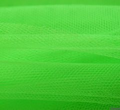 WeaverDee - Dress Net Fabric / 150cm Fluorescent Green - WeaverDee.com Sewing & Crafts - 2