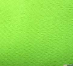 WeaverDee - Dress Net Fabric / 150cm Fluorescent Lemon - WeaverDee.com Sewing & Crafts - 1