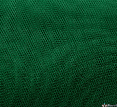 WeaverDee - Dress Net Fabric / 150cm Forest Green - WeaverDee.com Sewing & Crafts - 1